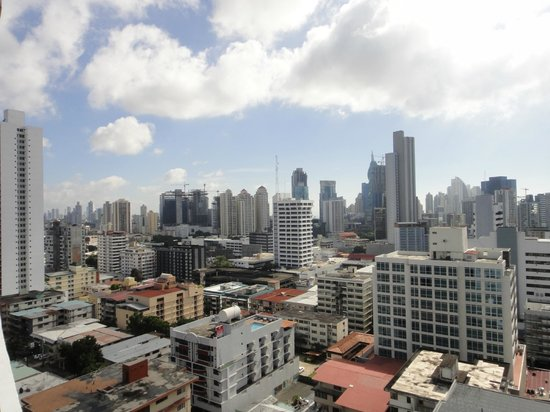 Tryp by Wyndham Panama Centro: View from the TRYP Panama Centro, Via Veneto, Panama City