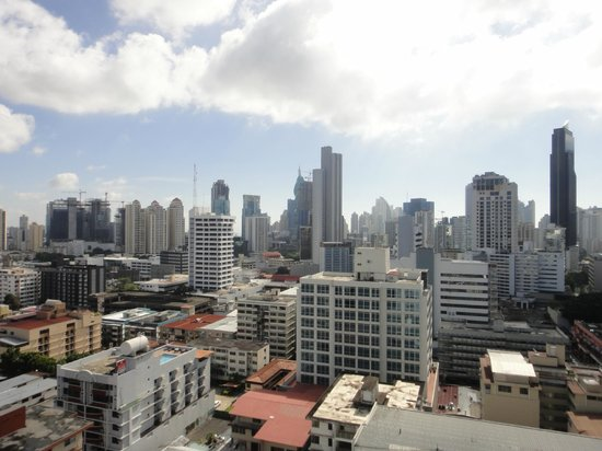 Tryp by Wyndham Panama Centro: View from the TRYP Panama Centro, Via Veneto, Panama City (2)
