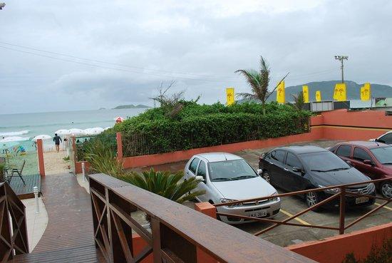 Palm Beach Apart Hotel : praia