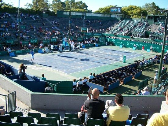 Buenos Aires Lawn Tennis Club : Cancha de día