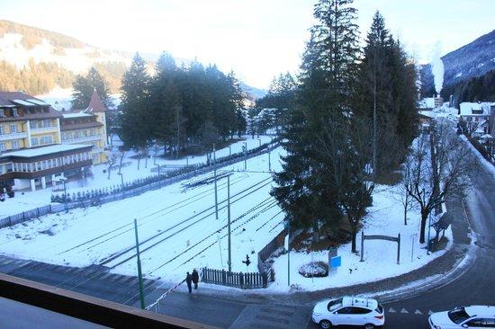 Hotel Union: panorama Dobbiaco