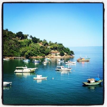 Vila Pedra Mar: View from the honeymoon suite balcony