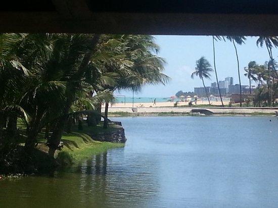 Jatiuca Resort: vista da Lagoa da Anta e Praia da Jatiuca