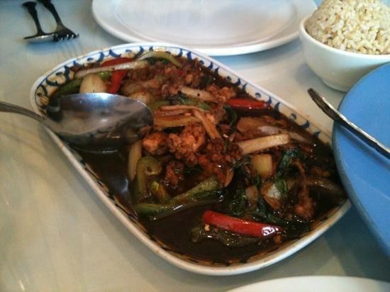 Thai Chili: Basil (not) Shredded Chicken