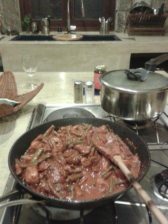 La Hacienda: Küche