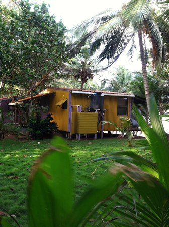 Casa Iguana: Our cabin on the east side