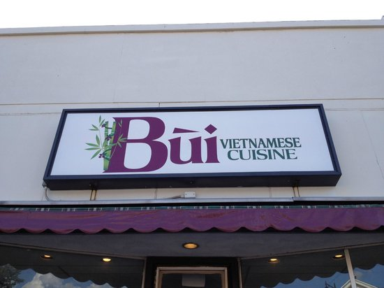 Bui Vietnamese Cuisine: Our Sign