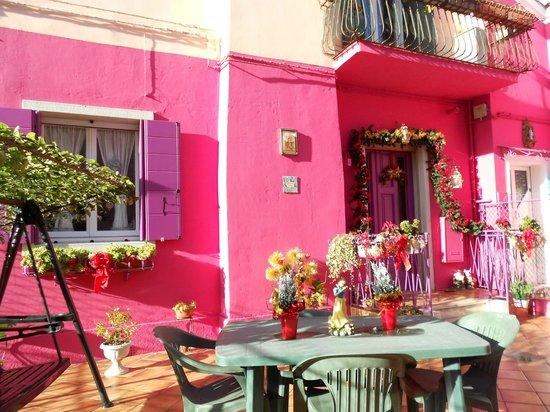 Hotel Villa Rosa: Island of Burano