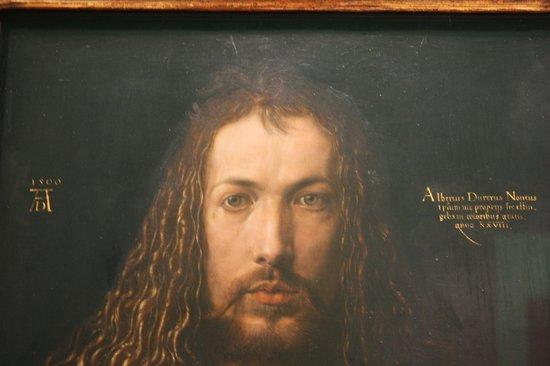 Alte Pinakothek : L'autoritratto di Durer...solo questo capolavoro vale la visita.