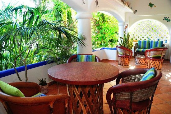 Natz Ti Ha Condominios: Casa Cocatino terrace