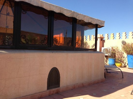 Riad Fantasia Prestige: terrasse
