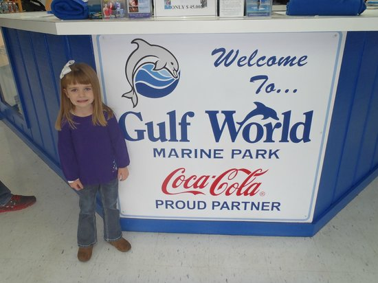 Gulf World Marine Park: About to Enter Gulf World