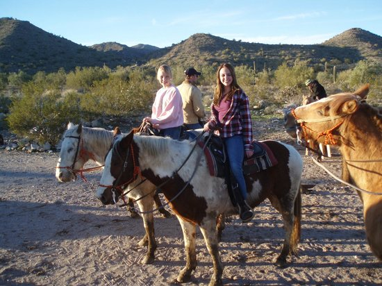 White Tanks Riding Stables: Scenic trails, gentle horses and great guides