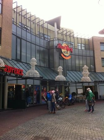 Eden Hotel Amsterdam: hard rock cafe