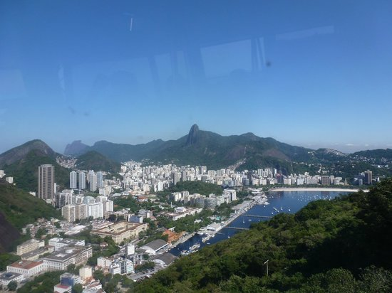 Hotel Marina Palace Rio Leblon: View from Sugar Loaf Mountain