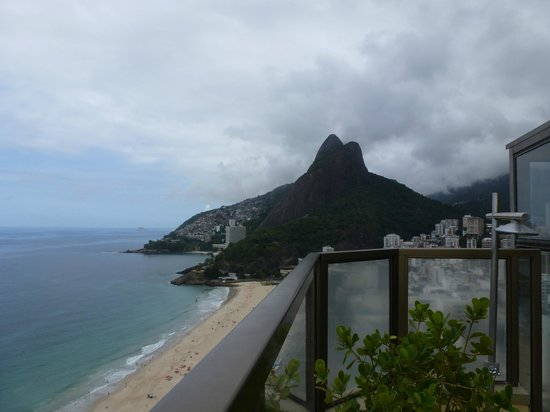 Hotel Marina Palace Rio Leblon: View from Rooftop