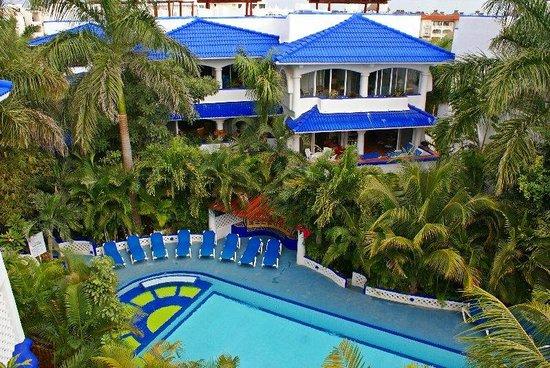 Natz Ti Ha Condominios: Natz Ti Ha complex pool
