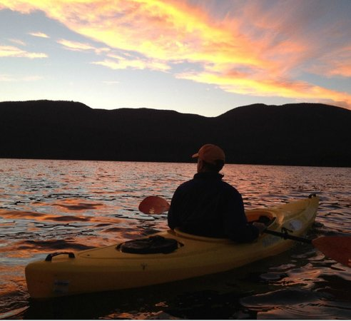 Colorado Cabin Adventures : Kayak just steps from your back porch!
