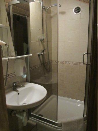 Senoji Palanga: bathroom - small but good enough
