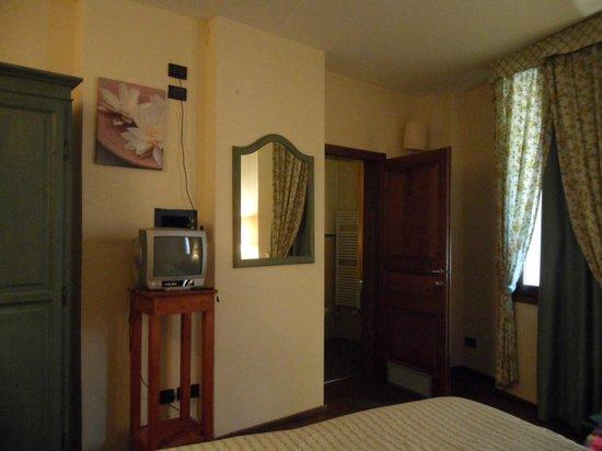 BioCasaMia : camera con porta del bagno