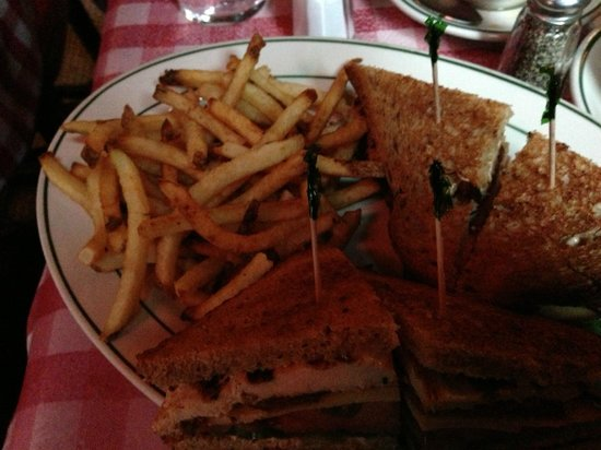 Fanelli Cafe: Club Sandwich ... Amazing!