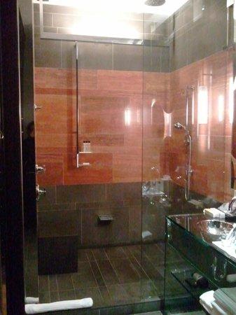 Andaz 5th Avenue: Open shower concept