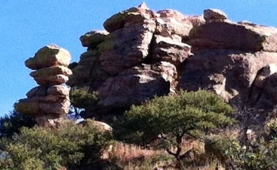 Circle Z Ranch: Incredible views of canyons and rock formations - rich history