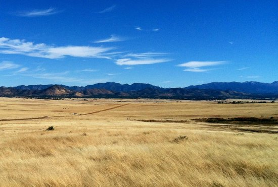 Circle Z Ranch: Riding across the plains, absolutely enormous space - alone