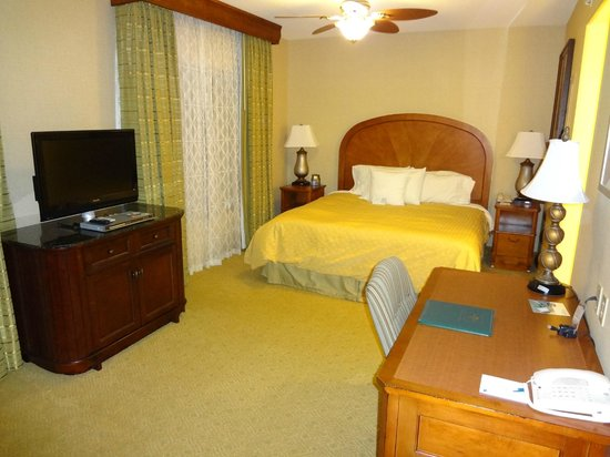 Homewood Suites Hagerstown: Studio Sleep Area