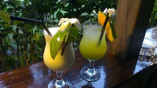 Vaima Polynesian Bar and Restaurant: Yummy cocktails :o)