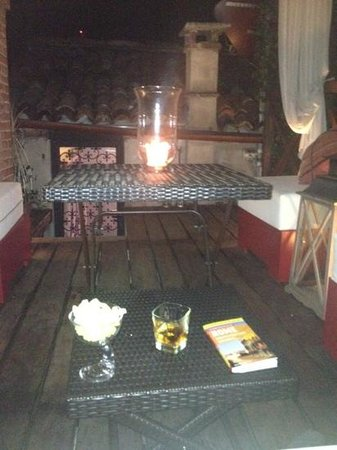 AD Place Venice: little rooftop terrace perfect place to end the day