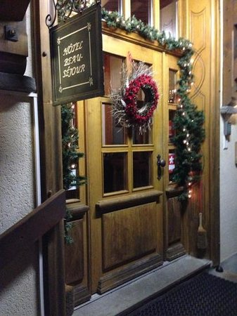 Art.Boutique.Hotel Beau-Sejour: front door