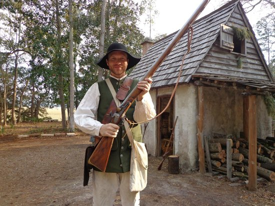 Wormsloe Historic Site : Homestead Reenactment