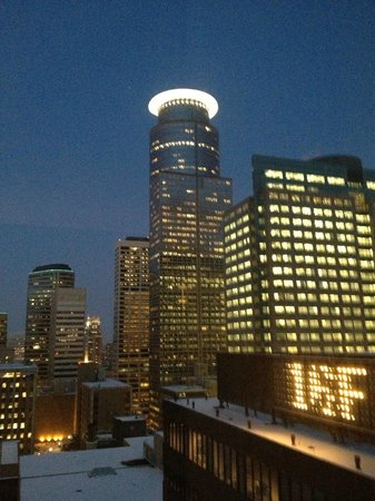W Minneapolis - The Foshay: view from room