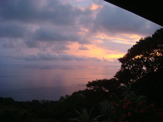 Villas Alturas: Sunset from our porch