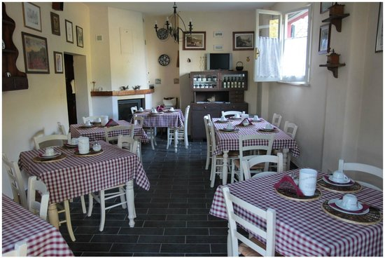 Agriturismo Ca Verde: Sala colazioni