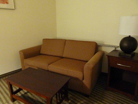 Comfort Suites: 'Suite' part of room