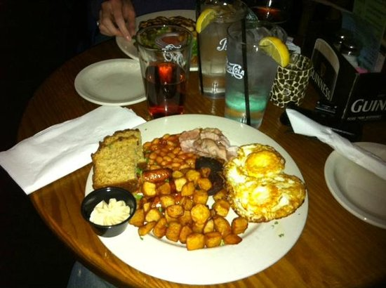Napper Tandy's Irish Restaurant & Pub: full English breakfast