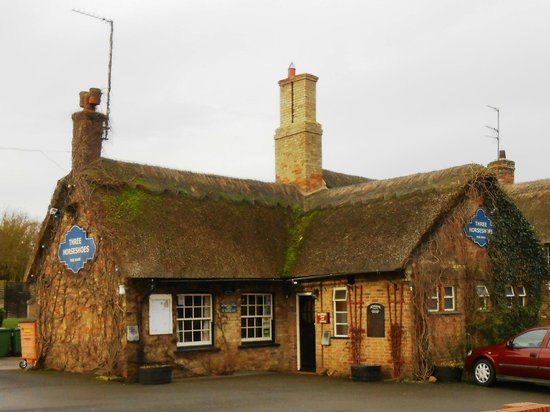 The Three Horseshoes: Three Horseshoes, Wistow, Cambridgeshire, England