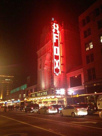 The Fox Theatre : January 2013