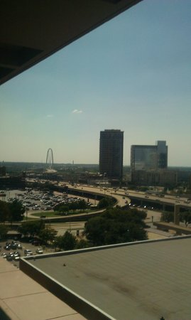 The Fairmont Dallas: View From My Room