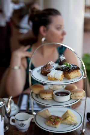 The Victoria Falls Hotel: High Tea