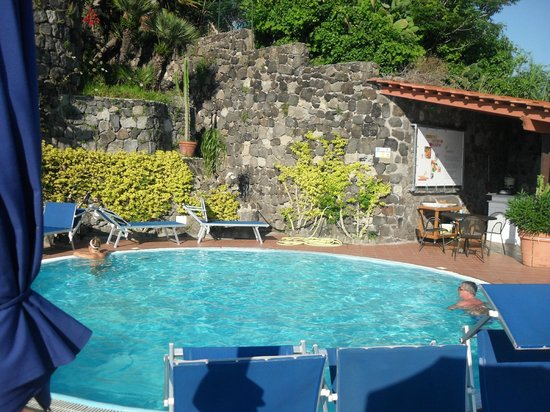 Aragona Palace Hotel: piscina riscaldata su terrazza