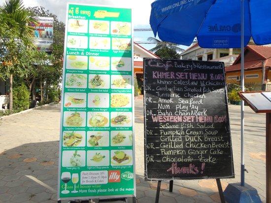 Cafe Restaurant CBF: メニュー