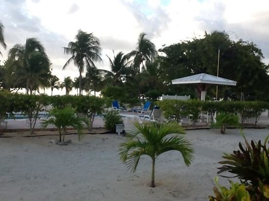 Cayman Brac Beach Resort: view from my room