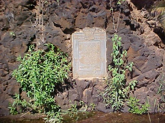 Kiki a Ola (Menehune Ditch): the Ditch is under the Monument