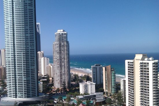 Artique Surfers Paradise: view