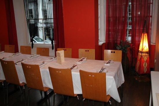 Ashleys Restaurant: The Moroccan Room