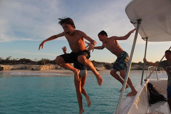 Seven Stars Resort & Spa: Boating Trip with Caicos Adventures