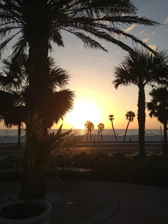 Beachwalk Inn: Beautiful Sunset